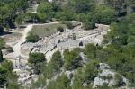 La cité gallo-romaine de Glanum. Saint-Rémy-de-Provence.