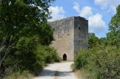 la Tour Porchères. Mane (Alpes-de-Haute-Provence).