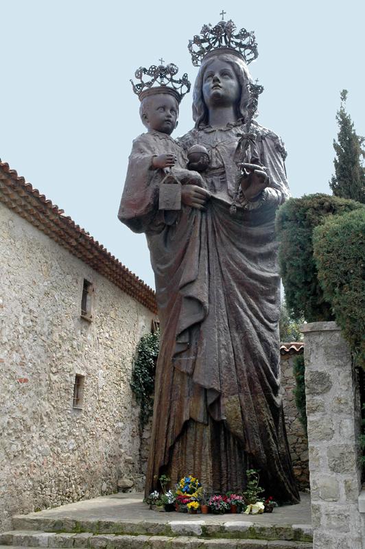 Notre-Dame de Saint-Hospice. Saint-Jean-Cap-Ferrat (Alpes-Maritimes).